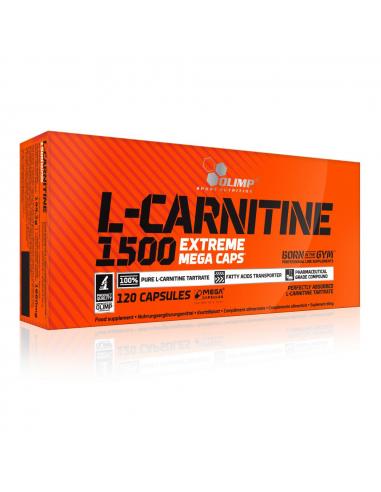 Olimp Nutrition L-Carnitine 1500 Extreme Mega Caps 120 kapszula