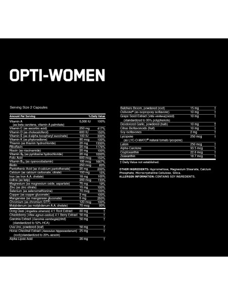 Optimum Nutrition Opti-Women 60 tabl.