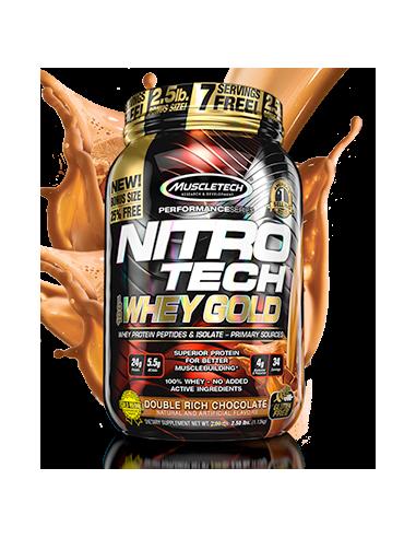 MuscleTech NitroTech 100% Whey Gold 1130 g