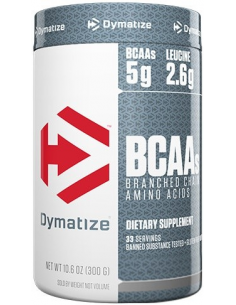 Dymatize BCAAs 2:1:1 Formula NEW 300 g unflavoured