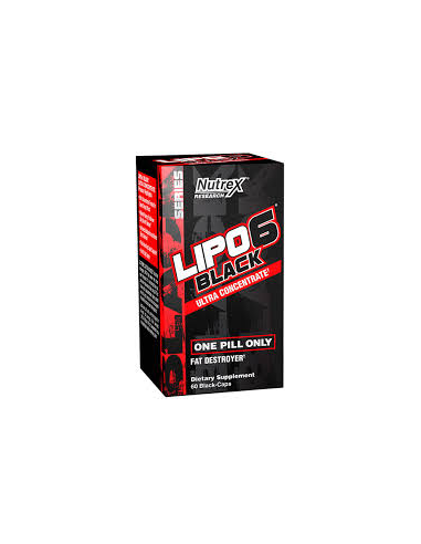 Nutrex Lipo 6 Black Ultra Concentrated 60 kapszula