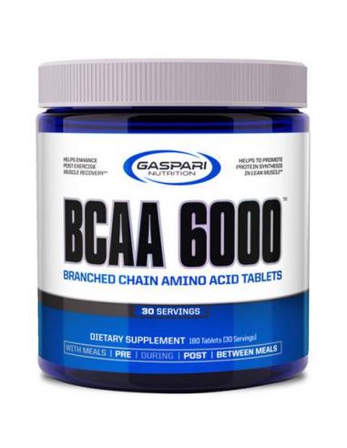 Gaspari Nutrition BCAA 6000 350 Tablets