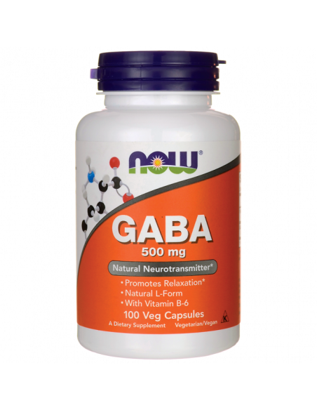 NOW GABA 500 mg