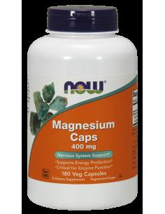 NOW Magnesium Caps 400 mg 180 vegan kapszula