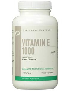Universal Nutrition Vitamin E 1000IU 50 gélkapszula
