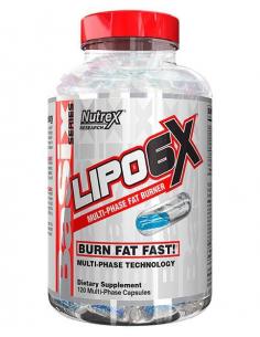 Nutrex Lipo 6x Multi-Phase 120 gélkapszula
