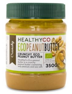 HealthyCo Peanut Butter 350 g crunchy