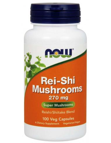 NOW Rei-Shi Mushrooms 270 mg 100 vegan kapszula