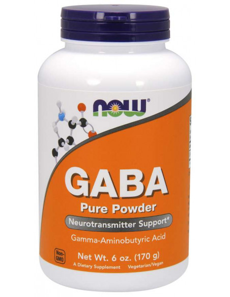 NOW GABA Pure Powder 170 g