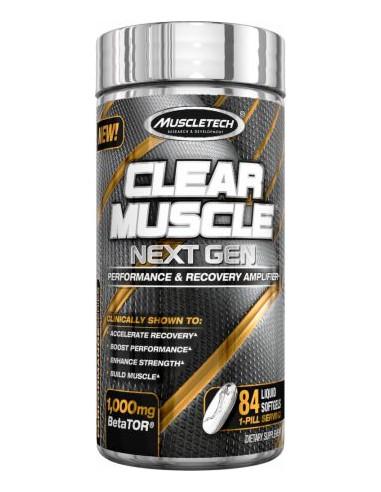 MuscleTech Clear Muscle Next Gen 84
