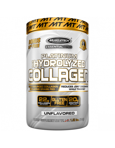 MuscleTech Platinum 100% Hydrolyzed Collagen