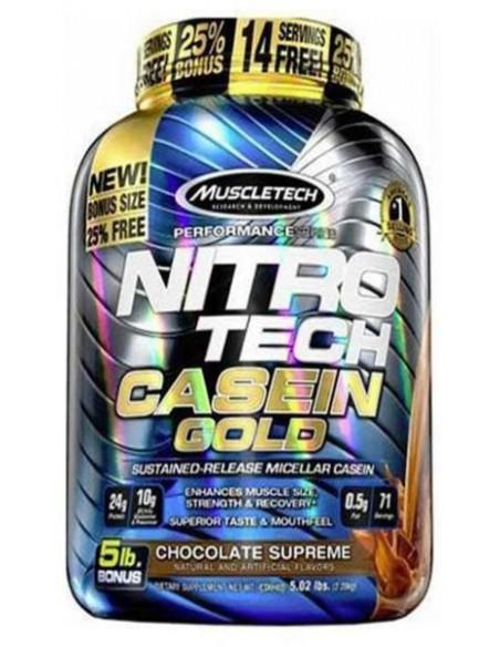 MuscleTech NitroTech Casein Gold 2280 g
