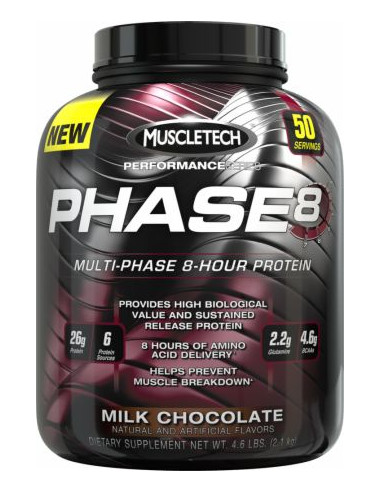 MuscleTech Phase 8 Protein 2000 g