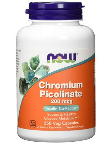 NOW Chromium Picolinate 200mcg 250