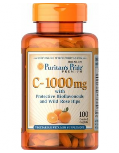 Puritan's Pride C-1000 mg with Bioflavonoids 100 tabletta