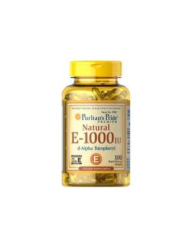 Puritan's Pride Vitamin E-1000 IU 50 gélkapszula