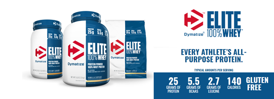 Dymatize Elite Whey NEW VERSION
