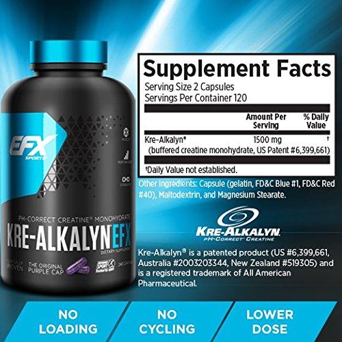 EFX Kre-Alkalyn 120 kapszula
