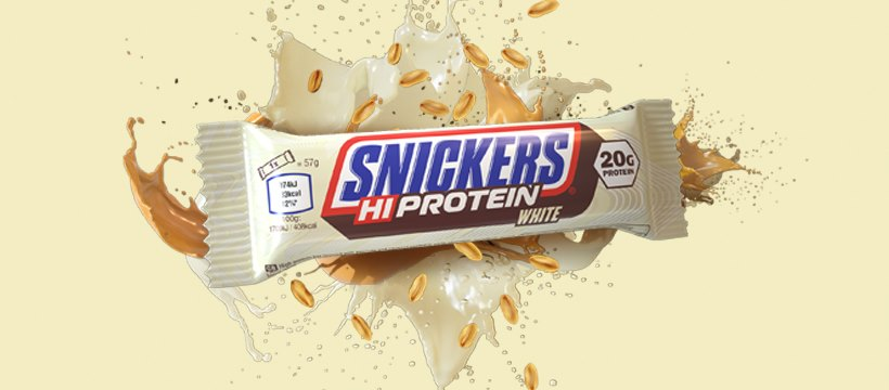 Snickers HIProtein Bar White Chocolate