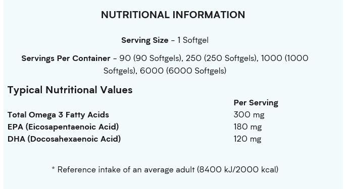 MyVitamins Essential Omega-3 90