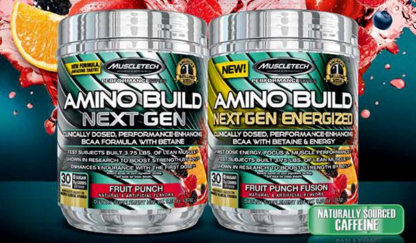 MuscleTech Amino Build Next Gen 276 g