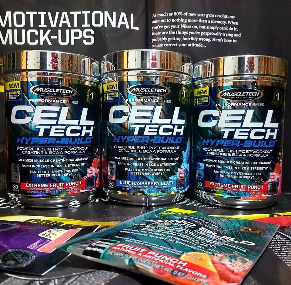 MuscleTech Cell Tech HYPER-BUILD