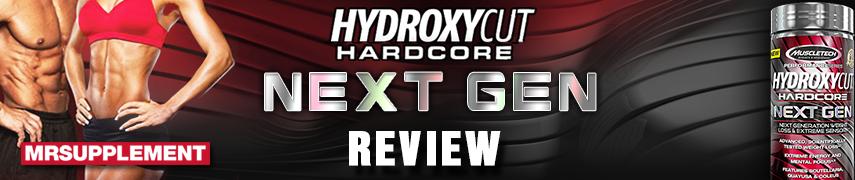 MuscleTech Hydroxycut Hardcore Next Gen 100 kapszula
