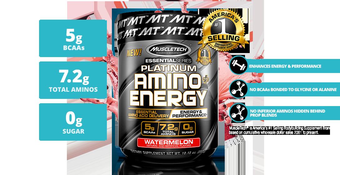 MuscleTech Platinum Amino + Energy