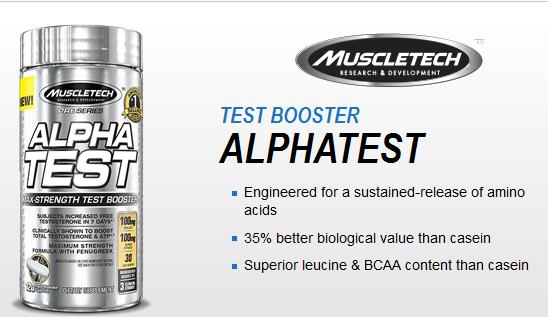 MuscleTech Pro Series Alpha Test