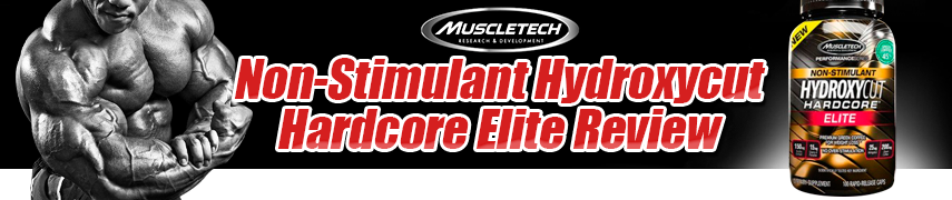 MuscleTech Hydroxycut Hardcore Elit NON-STIMULANT