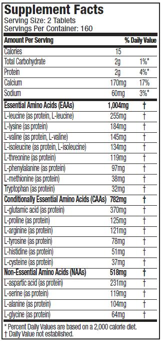 MuscleTech Platinum 100% Amino 2300