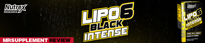 Nutrex Lipo 6 Black Intense Ultra Concentrate