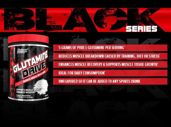 Nutrex Glutamin Drive Black