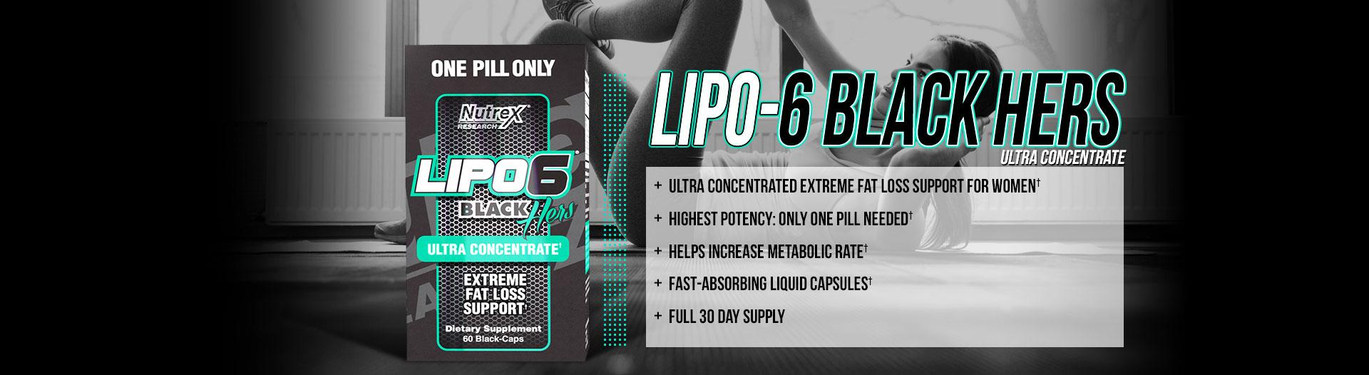 Nutrex Lipo6 Black Hers