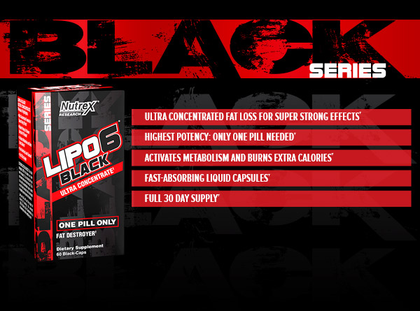 Nutrex Lipo 6 Black Ultra Concentrated