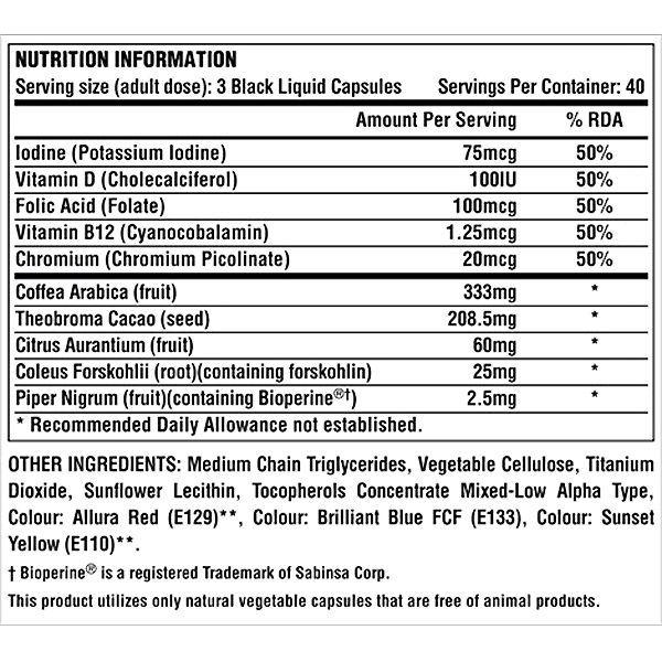 Nutrex Lipo-6 Black Hers Extreme Potency 120 liquid kapszula