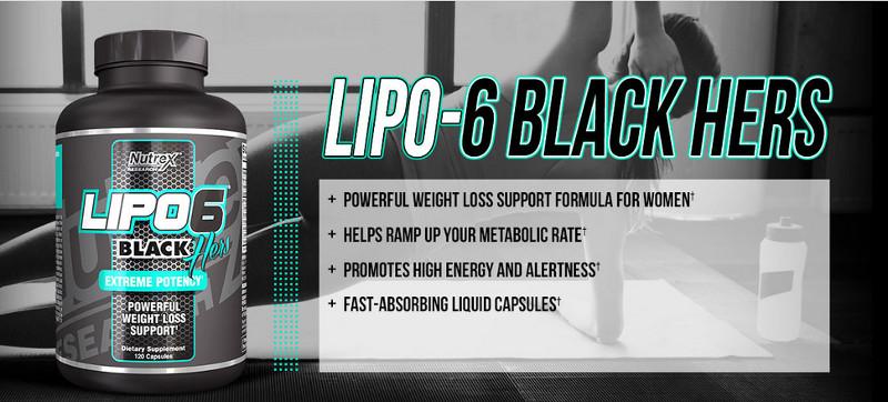 Nutrex Lipo-6 Black Hers Extreme Potency