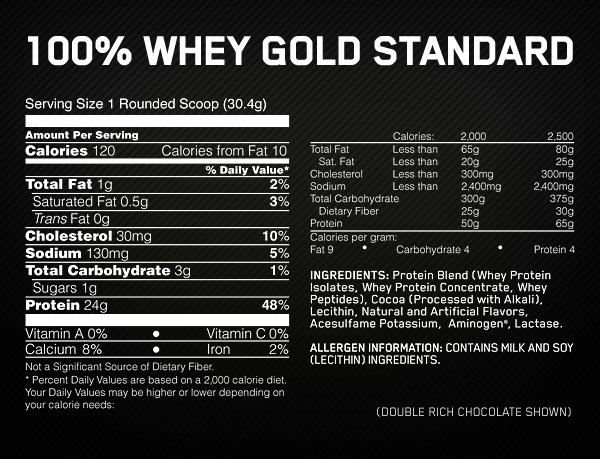 Optimum Nutrition Gold Standard Whey 2272 g