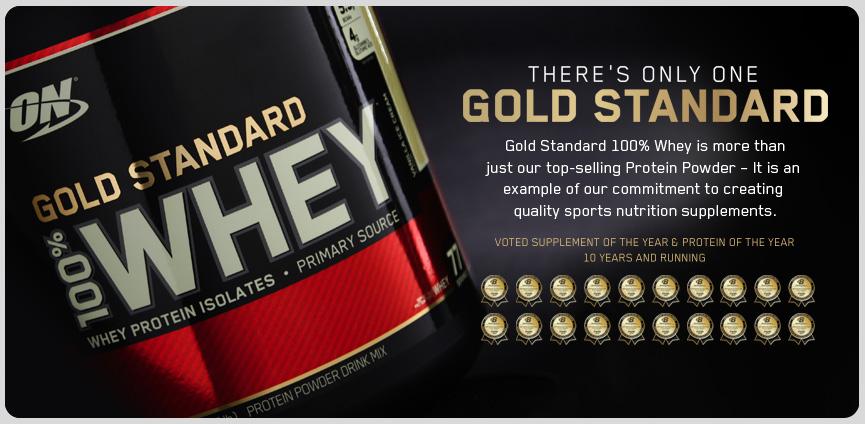 Optimum Nutrition Gold Standard 100% Whey 908g
