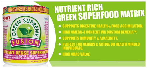 SAN Green Supreme