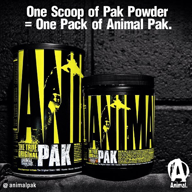 Universal Nutrition Animal Pak por